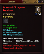 Frostwind Champion's Pauldrons