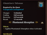 Ghostclaw's Talisman