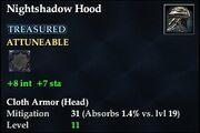 Nightshadow Hood