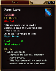 Reaver Adornment