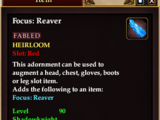 Focus: Reaver