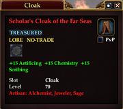 Scholar's Cloak of the Far Seas