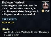 Skeleton (Warlock)