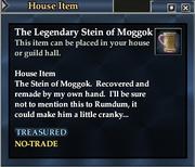The Legendary Stein of Moggok