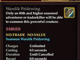 Warslik Pridewing