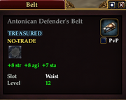 Antonican Defender's Belt