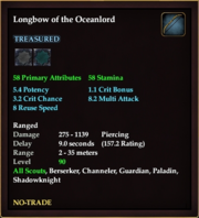 Longbow of the Oceanlord