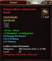 Naturewalker's Ashenwood Bands
