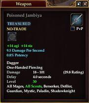 Poisoned Jambiya