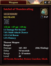 Satchel of Thundercalling