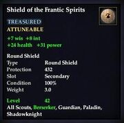 Shield of the Frantic Spirits