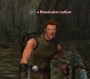 A Bloodsaber ruffian