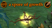 A spore of growth