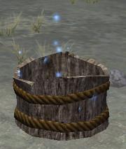 An empty othmir bucket (visible)