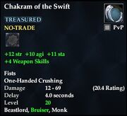 Chakram of the Swift