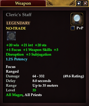 Cleric's Staff