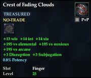 Crest of Fading Clouds