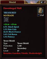 Dawnforged Wall
