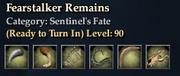 Fearstalker Remains