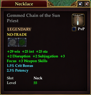 Gemmed Chain of the Sun Priest