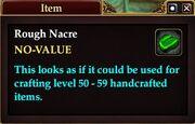Rough Nacre