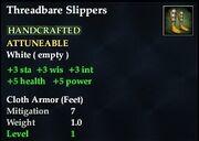 Threadbare Slippers