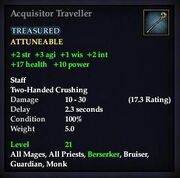 Acquisitor Traveller