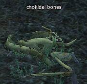 Chokidai bones