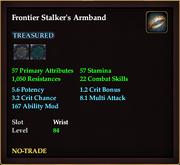 Frontier Stalker's Armband