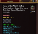 Hood of the Violet Ember