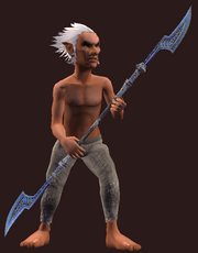 Master's Bladestaff (Equipped)