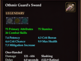Othmir Guard's Sword