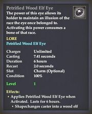 Petrified Wood Elf Eye