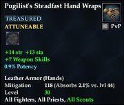 Pugilist's Steadfast Hand Wraps