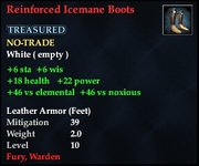 Refinforced Icemane Boots