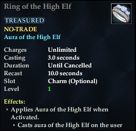 Ring of the High Elf | EverQuest 2 Wiki | FANDOM powered by