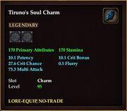 Tiruno's Soul Charm