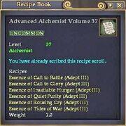 Advanced Alchemist Volume 37