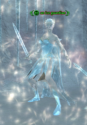 An ice guardian
