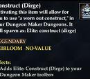 Construct (Dirge)
