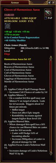 Gloves of Harmonious Auras