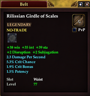 Rilissian Girdle of Scales