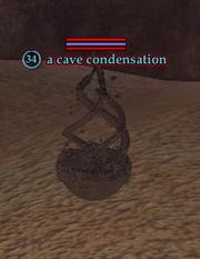 A cave condensation