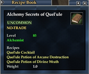 Alchemy Secrets of Quel'ule
