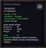 Circlet of Storms