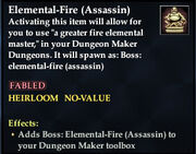 Elemental-Fire (Assassin)