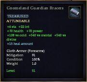 Gnomeland Guardian Bracers