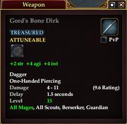 Gord's Bone Dirk
