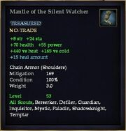 Mantle of the Silent Watcher