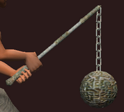 Ornate Flail of the Desert (Equipped)